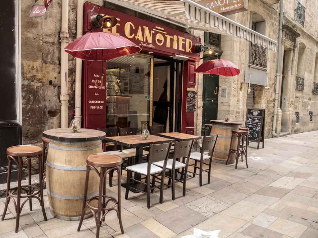 Le Canotier Bar à vins et bières Montpellier