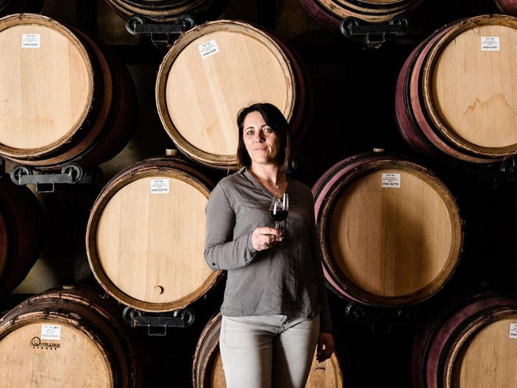 Claire Clavel, Domaine Clavel à Saint-Gervais