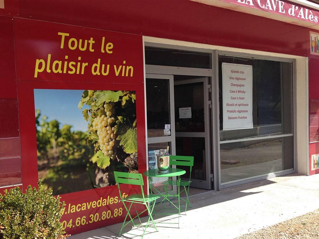 La Cave d'Alès, anciennement Plaisir du Vin à Alès.