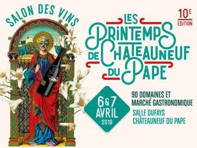 Les Printemps de Châteauneuf-du-Pape, 10 ans déjà !