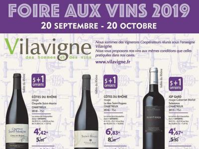 Foire aux vins Vilavigne Le Pontet