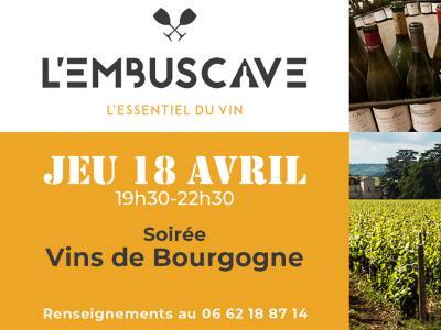 L'Embuscave - Soirée Vins de Bourgogne