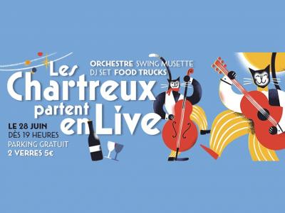 Les Chartreux partent en live