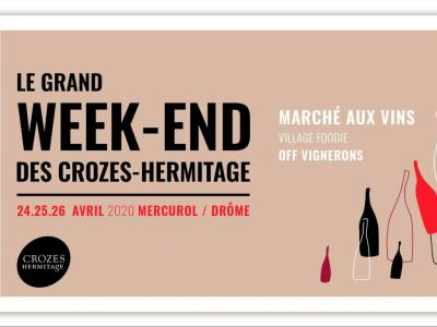 Le Grand Week-End des Crozes Hermitage