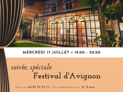 Soirée spéciale Festival d'Avignon