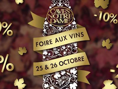 Foire aux vins Caves Notre Dame