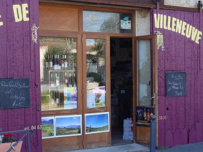 La Cave de Villeneuve à Villeneuve les Maguelone dans l'Hérault