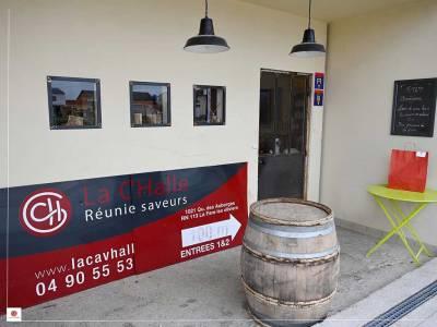 La Cav'Halle, cave et bar à vin à La Fare les Oliviers