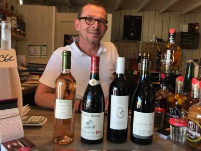 Xavier Bayeul, cave Grès Vin à Saint Etienne du Grès