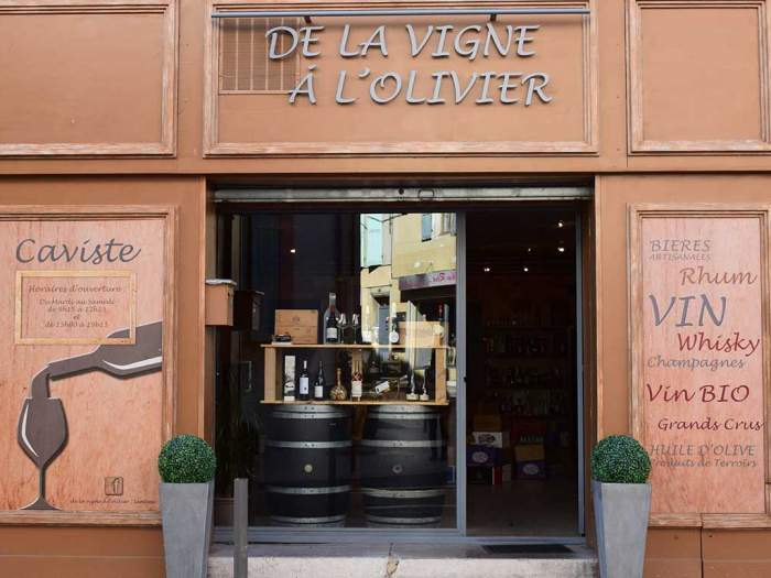 De la Vigne à l'Olivier Lambesc