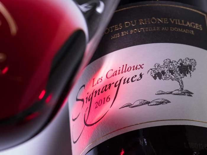 Domaine de la Valériane - Cuvée Les Cailloux, Côtes du Rhône Villages Rouge