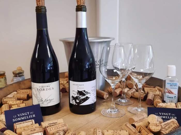 Un large choix de vins et des dégustations tout au long de l'année !