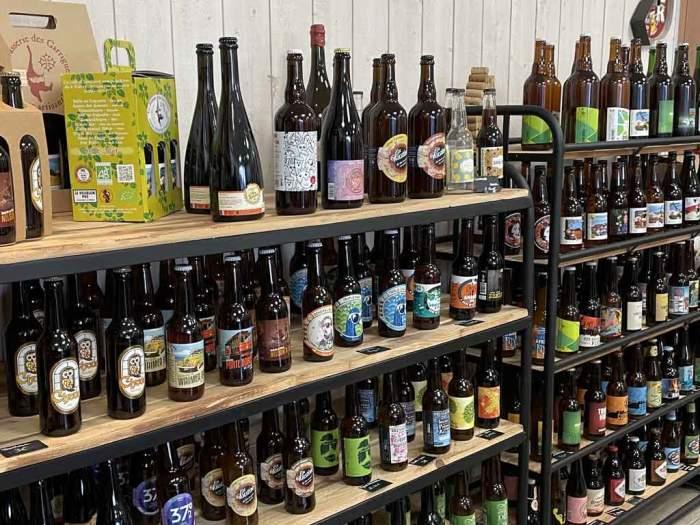 Un large choix de bières à La Cave Conviviale !