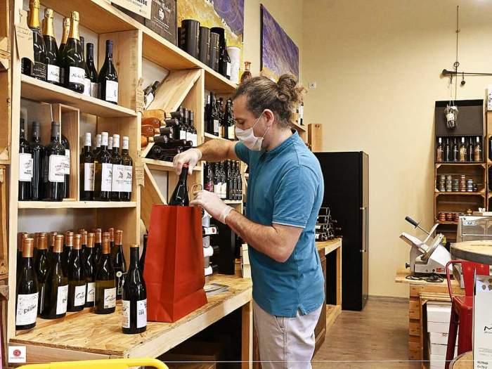 Christophe Avignon - La Cav'Halle, cave et bar à vin à La Fare les Oliviers