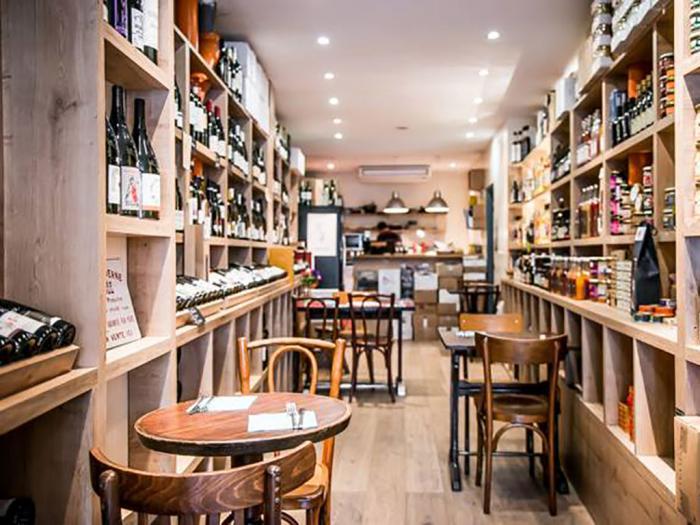 Le Cent Dix Sept, Caviste, bar à vins, épicerie fine à Paris dans le 11ème