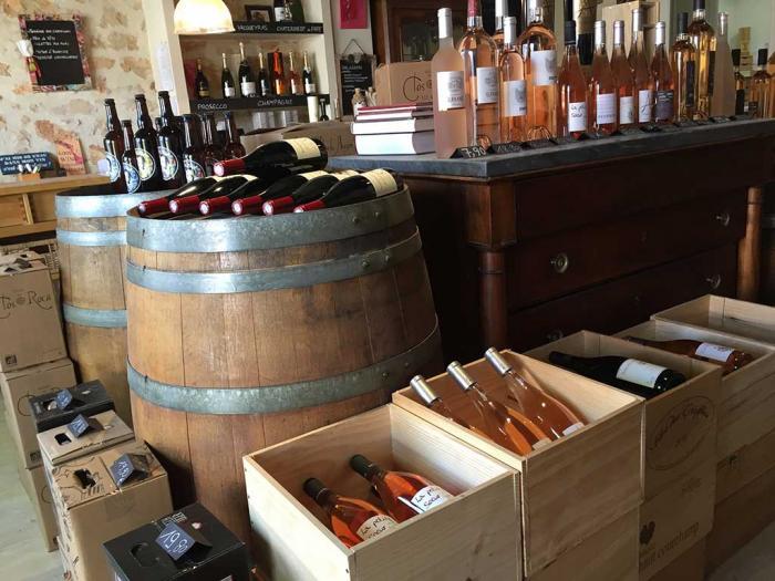 Cave Le Comptoir des Vins à Grabels, près de Montpellier