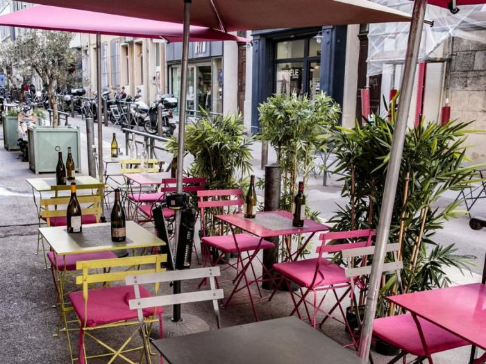 Terrasse Le Bistrot à vin Marseille