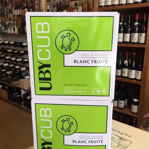 UBY Cub Blanc Fruité 5L