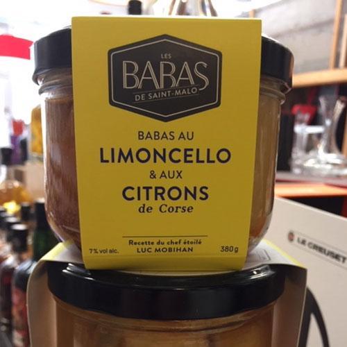 Babas au Lemoncello & Citrons de Corse