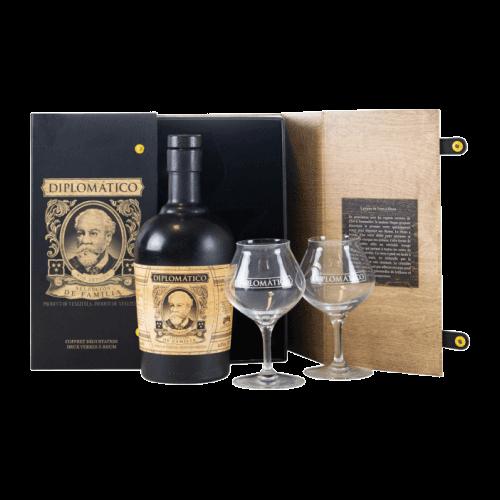 Diplomatico Familia coffret 2 verres