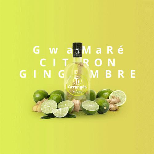 Rhum Ti'Arrangé Gwamaré Citron Gingembre