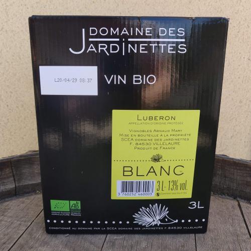 Domaine des Jardinettes Blanc Cubi BIO